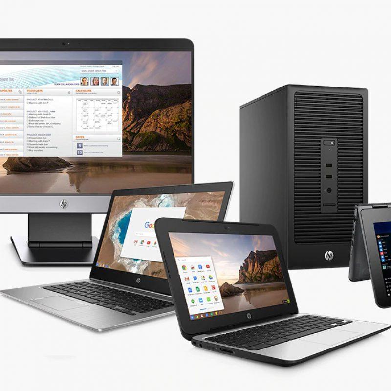 laptops desktops